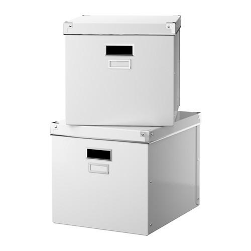 Ikea hack caja para guardar carpetas colgantes - Cajas de ikea ...