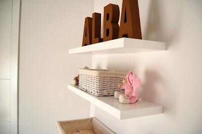 La habitaci n infantil de alba - Comoda blanca conforama ...