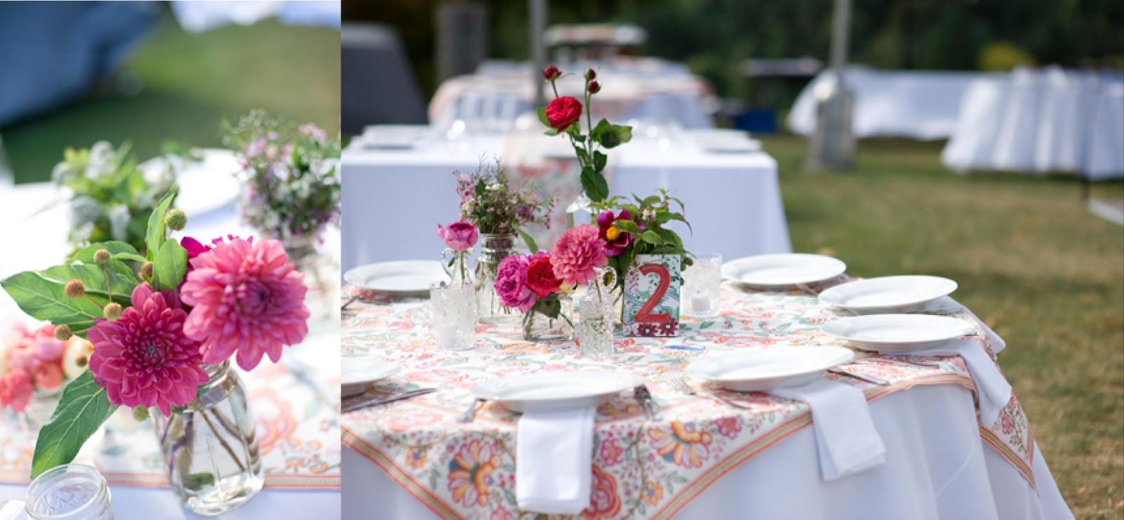 Insp rate las mesas de una boda en el campo paperblog - Mesas de campo ...