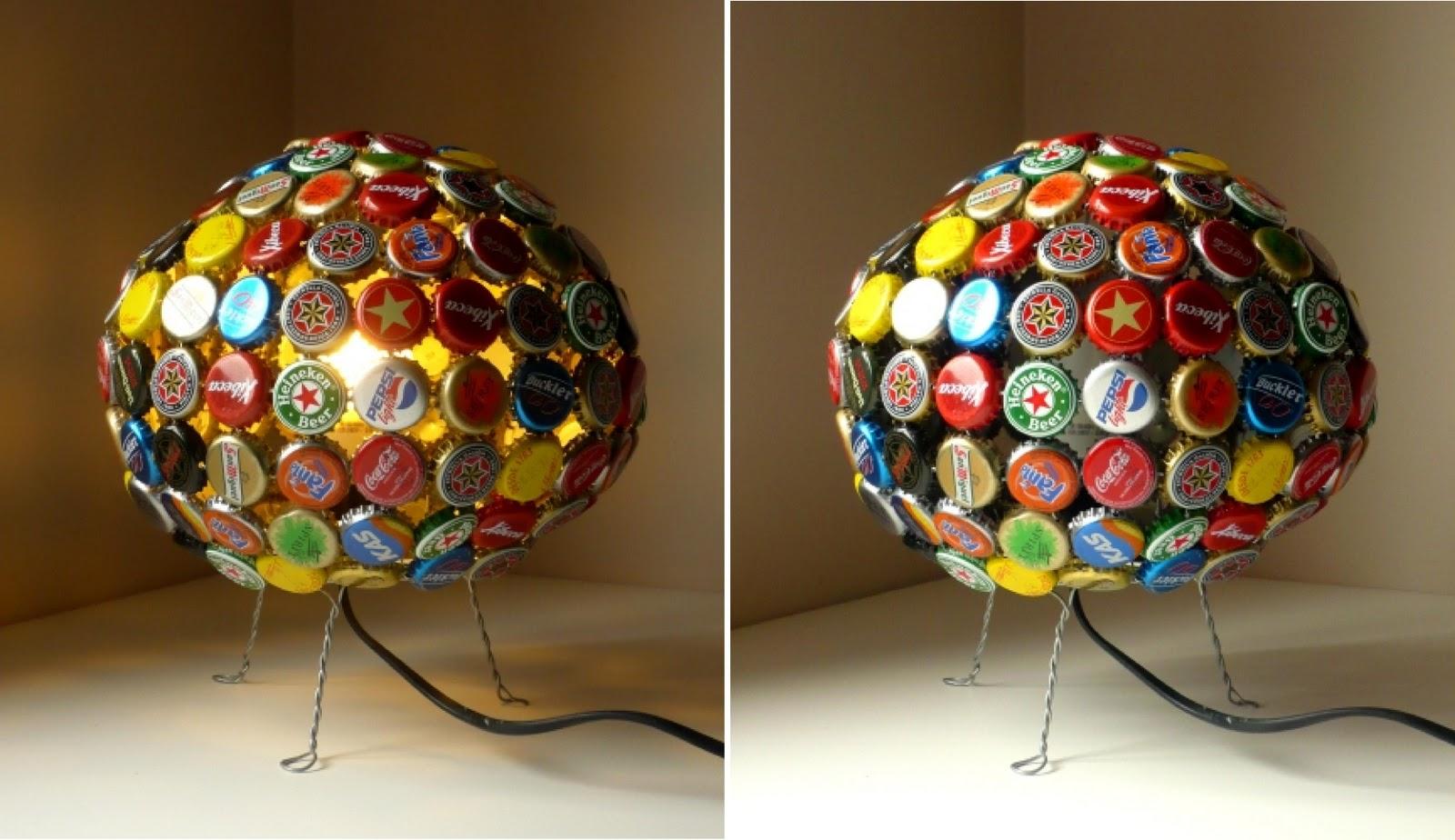 Iturriadesign 20 lamparas recicladas - Lamparas de mesa recicladas ...