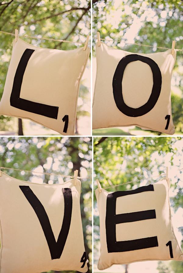 Ideas originales letras scrabble en tu boda 4 for Letras scrabble decoracion