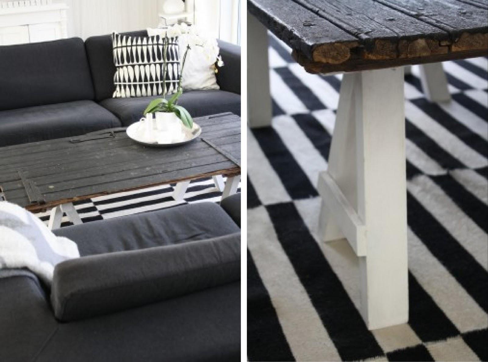 Mesa hecha con una puerta for Mesas con puertas