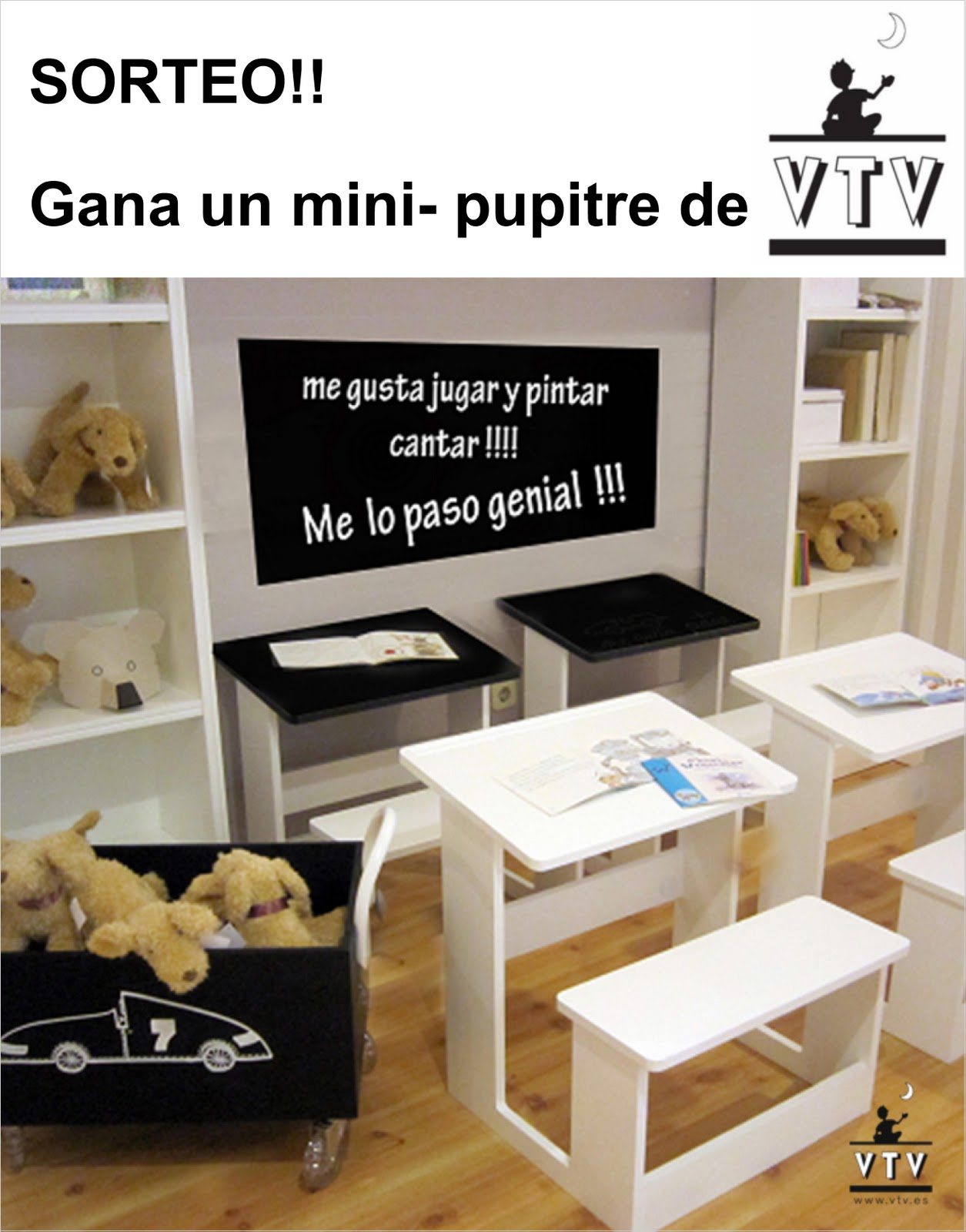 Sorteo gana un mini pupitre de vtv baby deco - Vtv mobiliario infantil catalogo ...