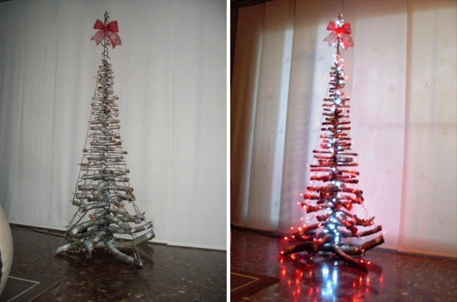 El rbol de navidad ramitas de zin tutorial - Arbol de navidad con ramas ...