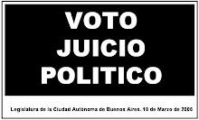 Voto Juicio Politico a Anibal Ibarra