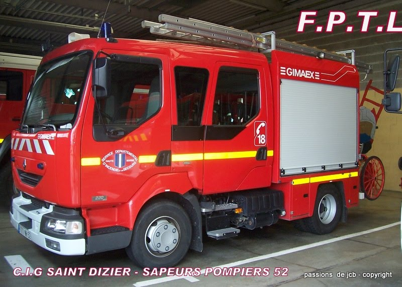 sapeurs pompiers 52 le c i g saint dizier le f p t l. Black Bedroom Furniture Sets. Home Design Ideas