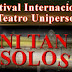 IV Festival Internacional de Teatro Unipersonal convoca!!
