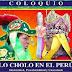 """Folklore en """"Lo Cholo en el Peru"""" la proxima semana"""