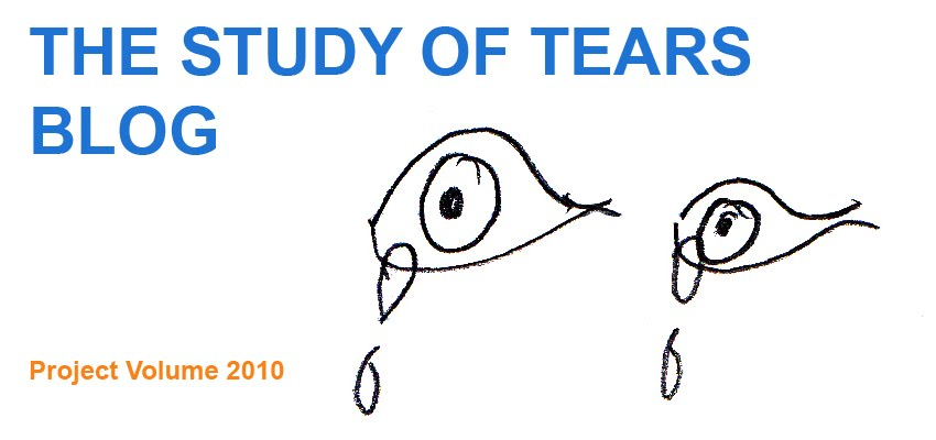 THE STUDY OF TEARS    BLOG