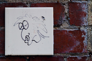 Graffiti - photographed down Hosier Lane in Melbourne