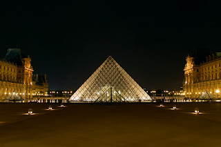 The Pyramid at the Louvre - Paris, France