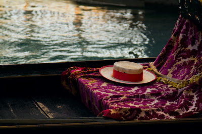 A Gondoliers hat - Venice, Italy