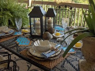 End of Summer Seashell Tablescape