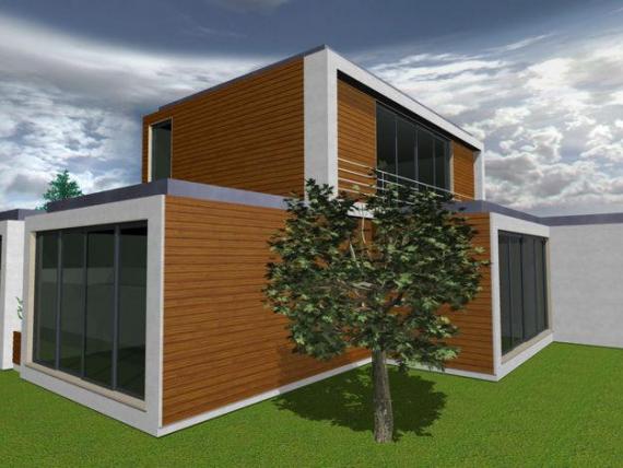 Construir casa nova continua a encarecer engenharia e - Casas modulares portugal ...