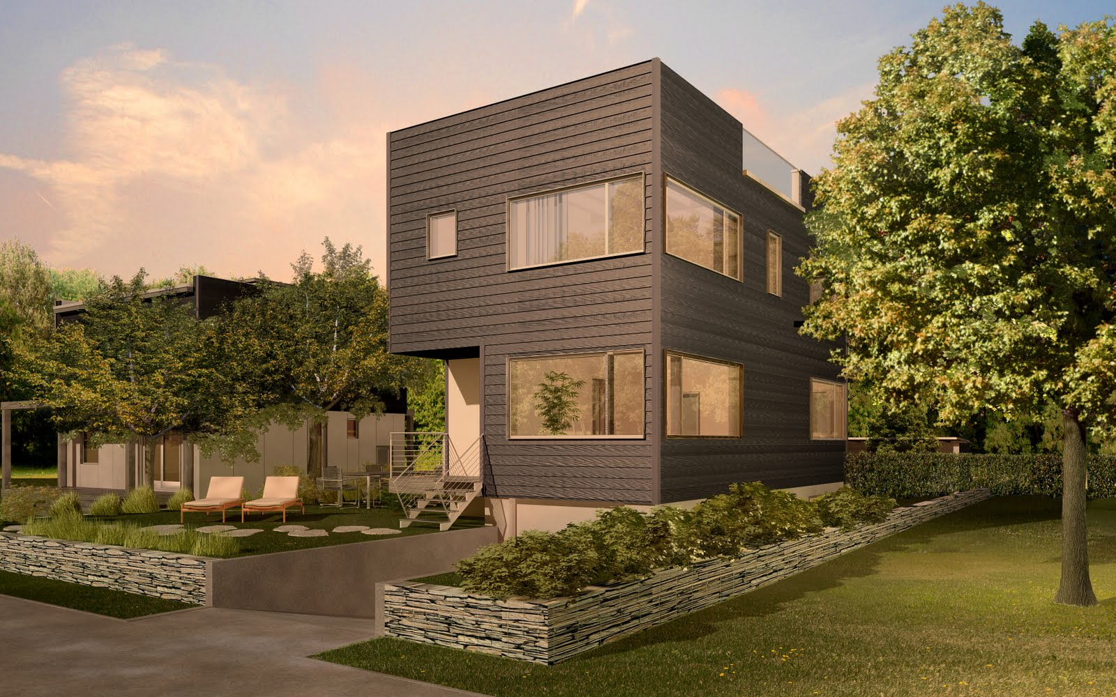 Urban Real Estate Modular Green Homes Are Coming To Seattle