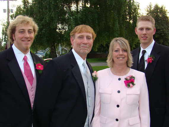 Jim's family in May 2008