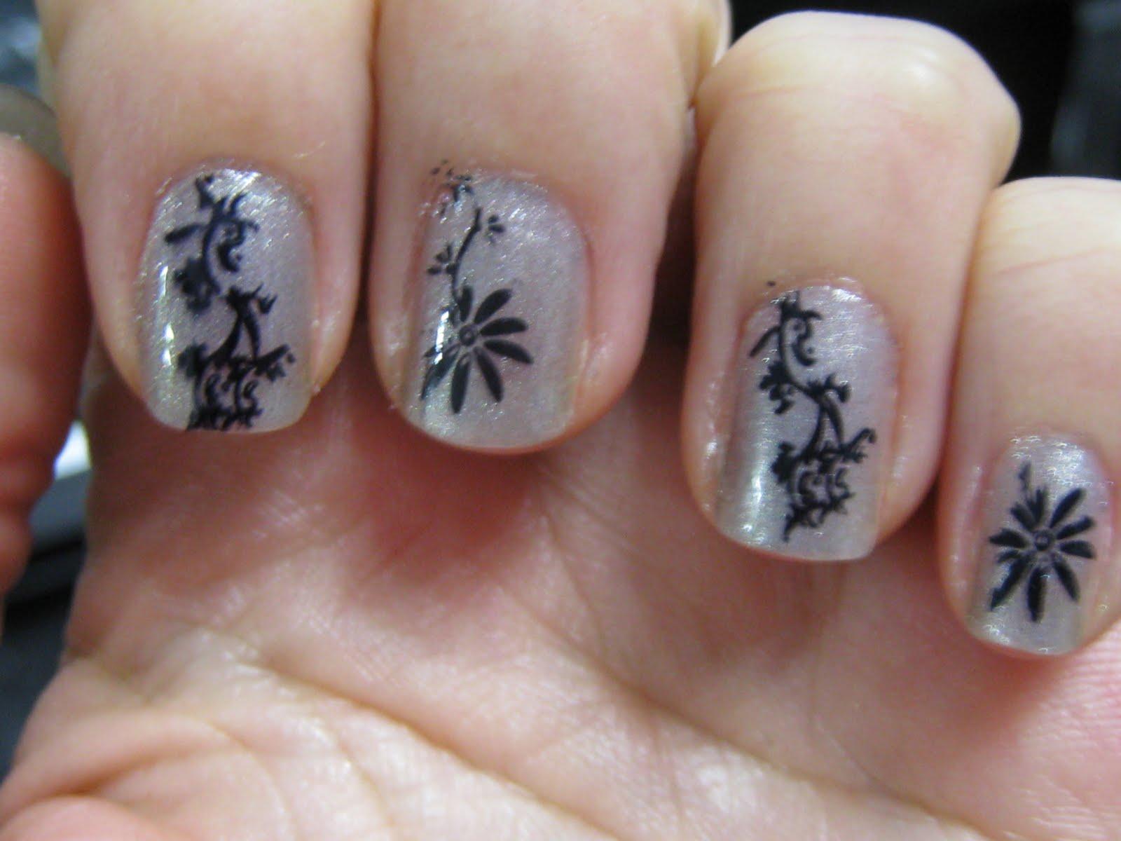Awesome Konad Nail Art Composition - Nail Art Ideas - morihati.com