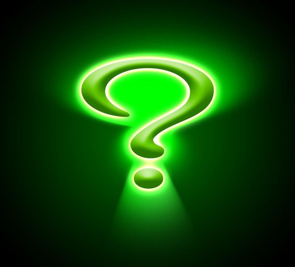 The Ranter S Box November 2010 Riddler Question Mark Template Hat
