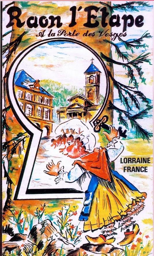 RAON L'ETAPE ( Vosges )