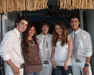 Nick Jonas Miley Cyrus 2006
