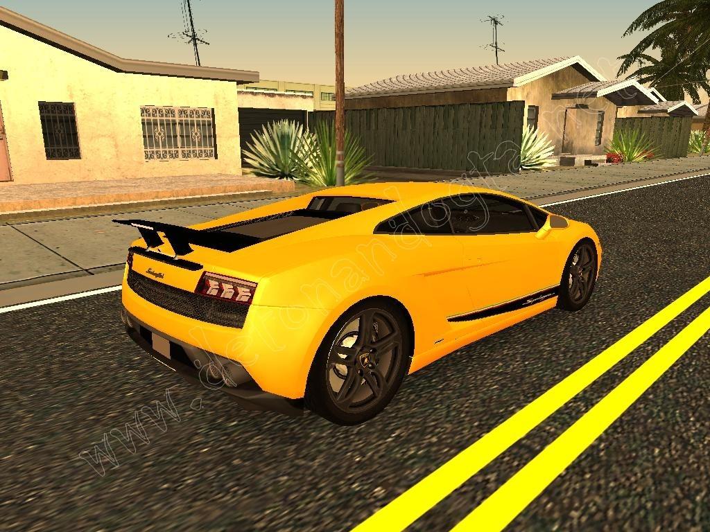 GTA SA Lamborghini Gallardo