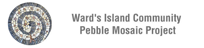 Ward's Island Community Pebble Mosaic Project