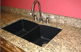 Granite Kitchen Countertop Pictures Costa Esmeralda Granite Countertop