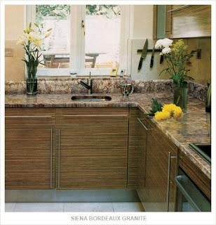 Sienna Bordeaux Granite Home Gallery kitchen Siena Bordeaux granite
