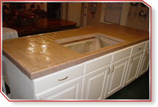 Tile Countertops Pictures ceramic tile, countertops, and kitchen cabinets