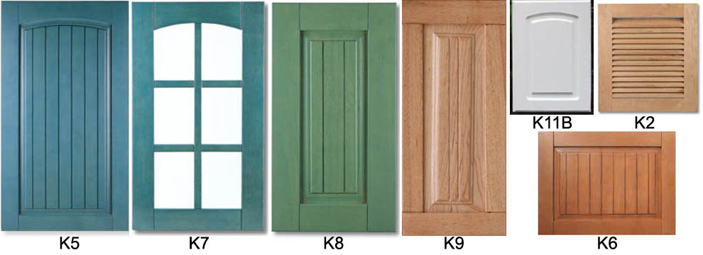 Kitchen Cabinet Door Types