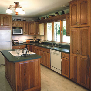 Small Kitchen Remodel  To create the small but efficient kitchen design, we need to work on three