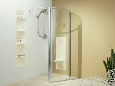 Handicap Bathroom Design Handicap bathroom needs walk-in shower that makes the users easy