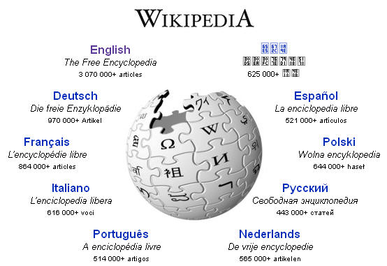 Wikipedia first page