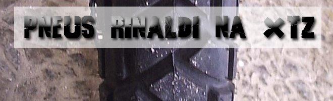 Pneus Rinaldi na XTZ