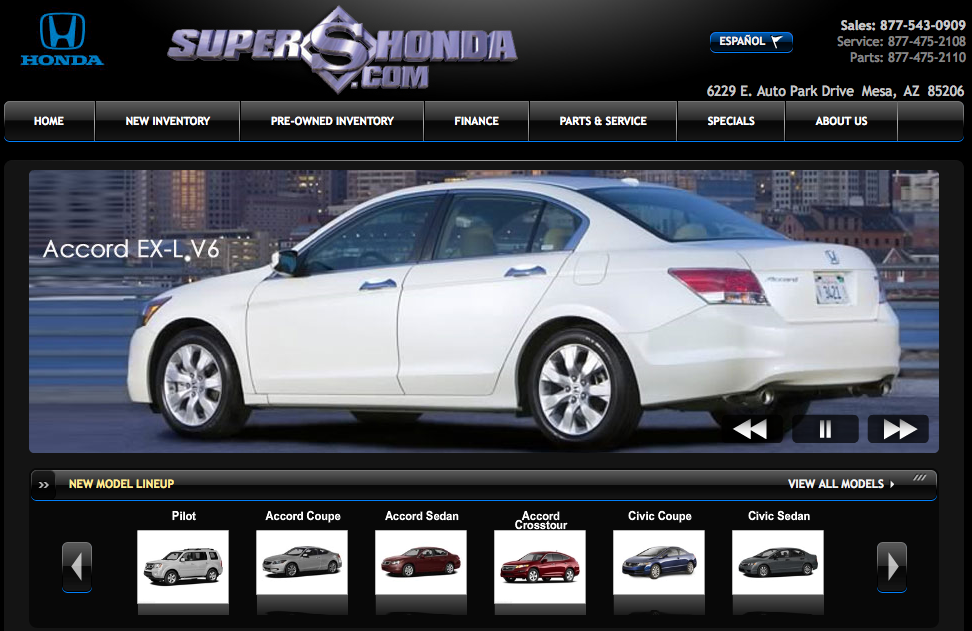 Used cars for sale honda of superstition springs is for Superstition springs honda