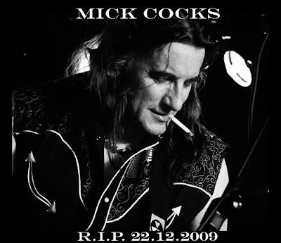 'Mick Cocks', miembro fundador de Rose Tattoo, falleció el pasado 22 de