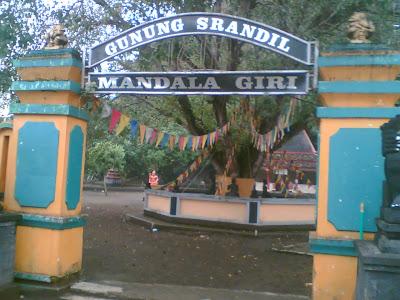 SEJARAH SINGKAT GUNUNG SRANDIL MANDALA GIRI