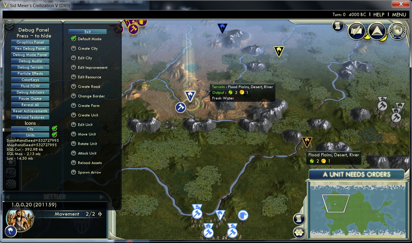 Civilization 5 cheaty