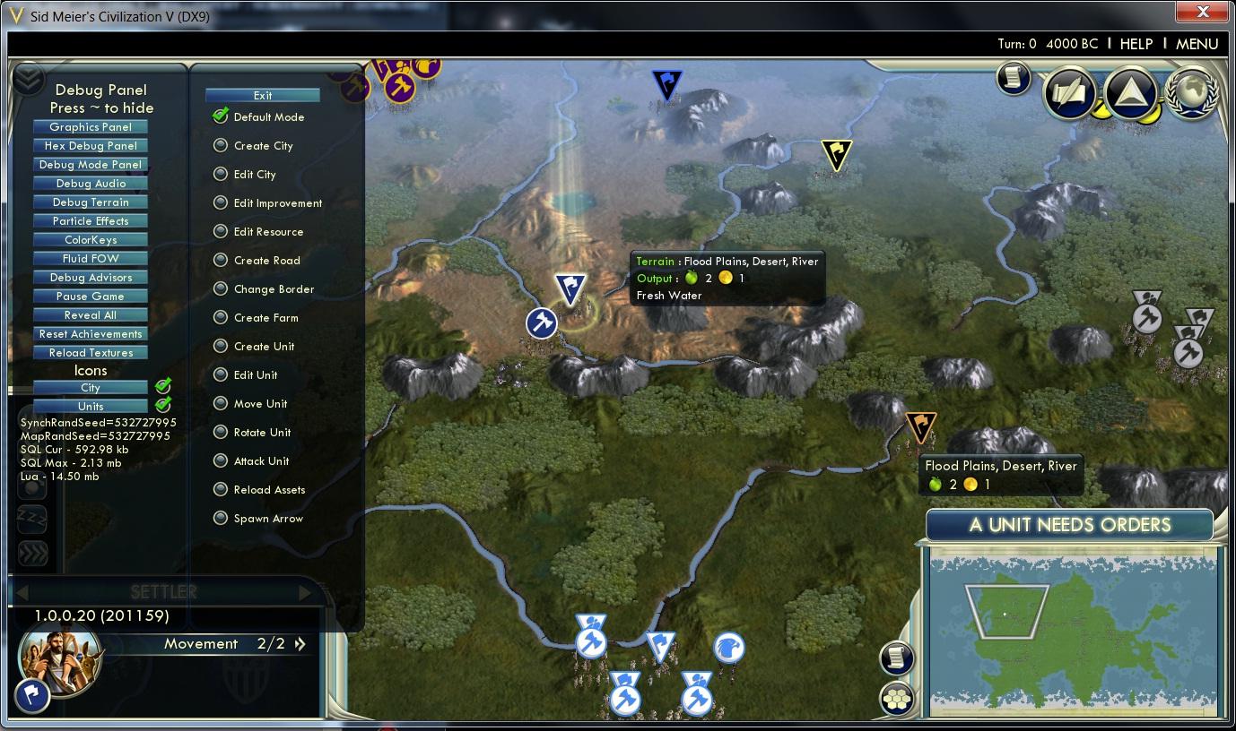 Civilization 5 cheaty