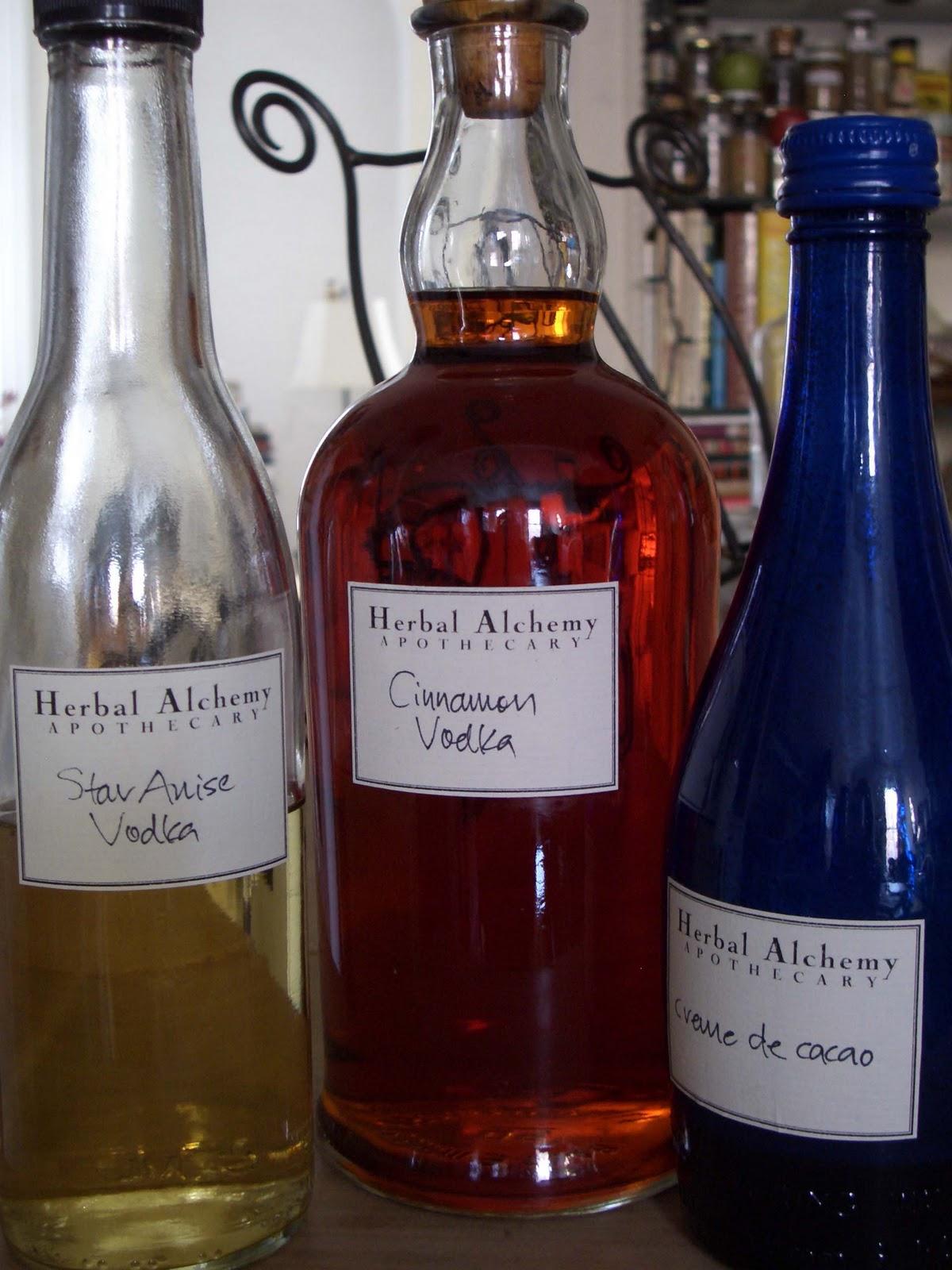 alchemologie: Winter Cocktail Tasting