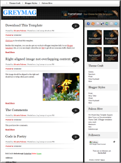 Best Magazine Style Blogger Templates