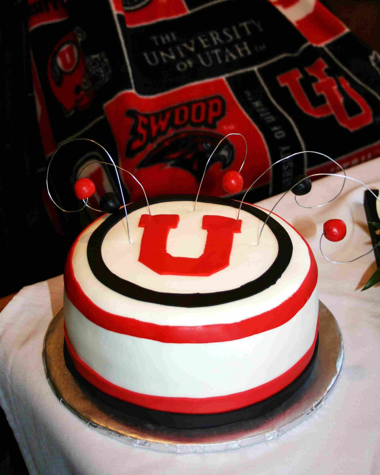 Layers Of Love Connelly Wedding With University Of Utah Grooms Cake