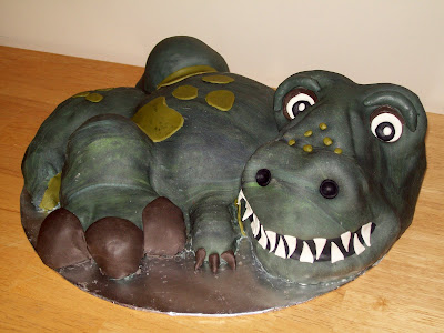 Layers of Love Trex cake