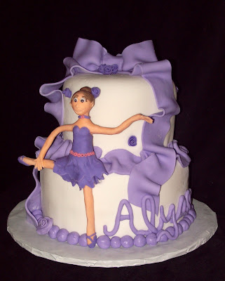 ballerina cake this one was