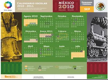 Calendario Escolar SEP 2010-2011