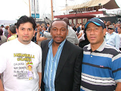 With Jimmy Delgado And Friend
