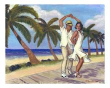 Salsa Playa Poster