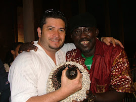 With Baobab Orquesta Singer
