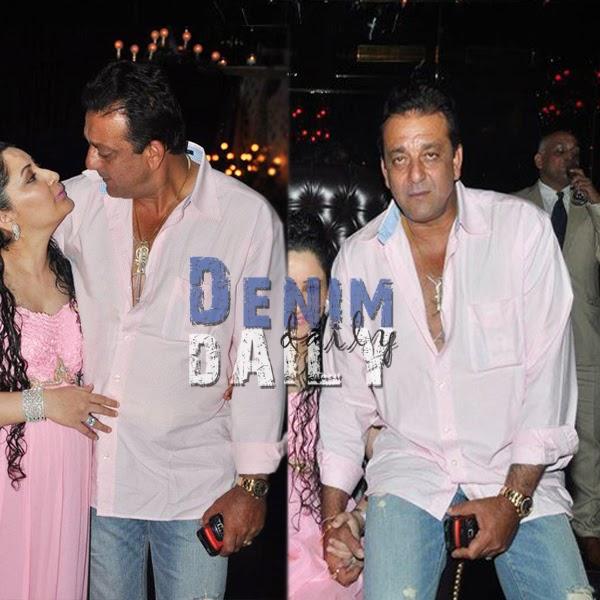 Denim Daily: Sanjay Dutt Seen In Bootcut Jeans