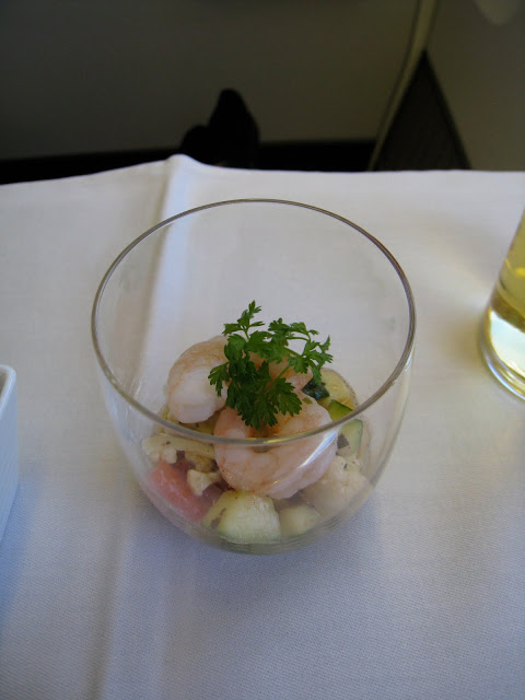 Trip report: Japan Airlines Business Class Amuse bouche on JL061